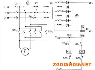 油浸式感应调压电镀电源的电气原理