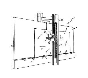 测量镀层透射度的测量装置图