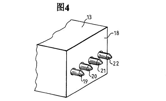电阻测量头的端部图
