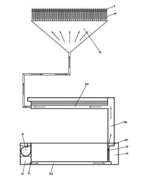 一种循环式镀锡装置的保护气体循环示意图